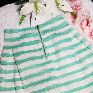 A'GACI Skirts - Stripe Skirt